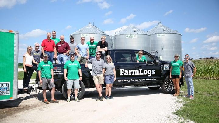 The FarmLogs team in Iowa