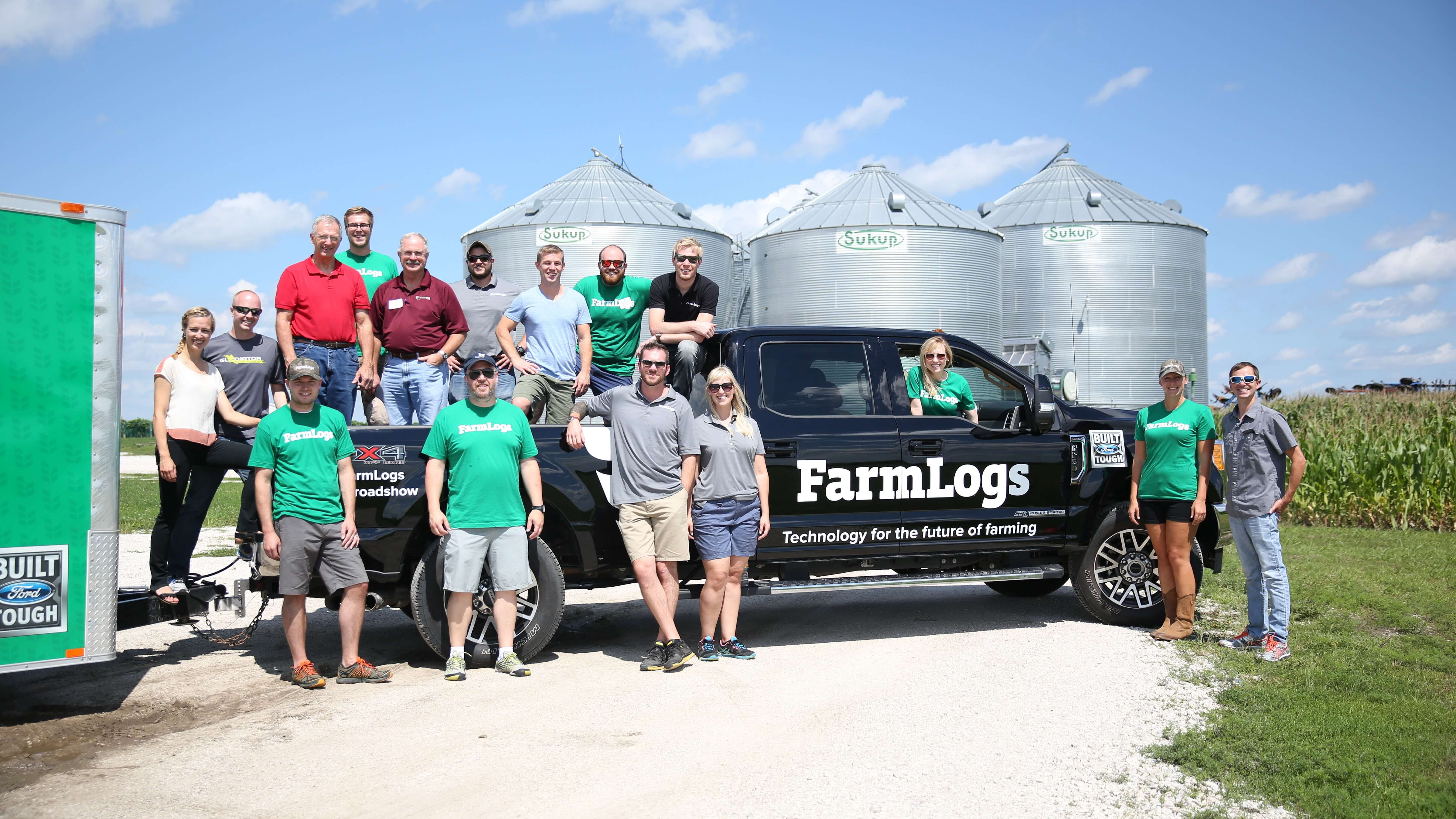 The FarmLogs team in Iowa