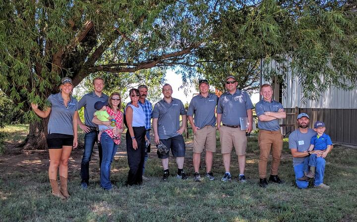 The FarmLogs team in Texas