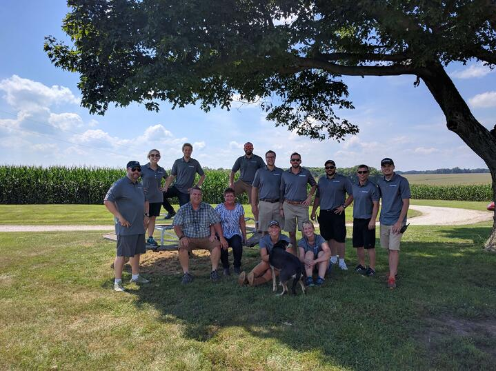 The FarmLogs team in Illinois