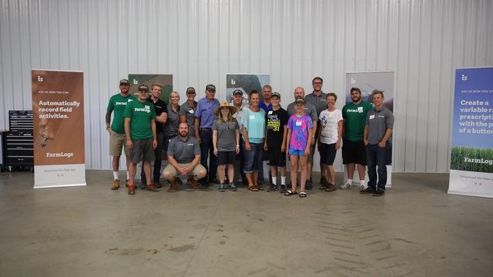 The FarmLogs team in Minnesota