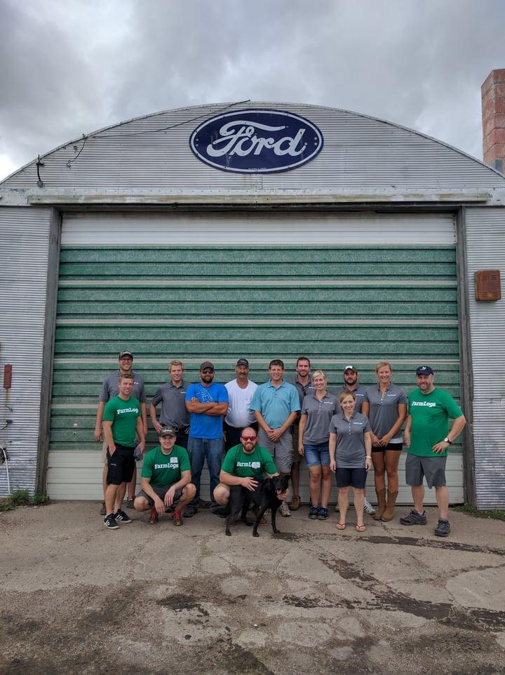 The FarmLogs team in North Dakota