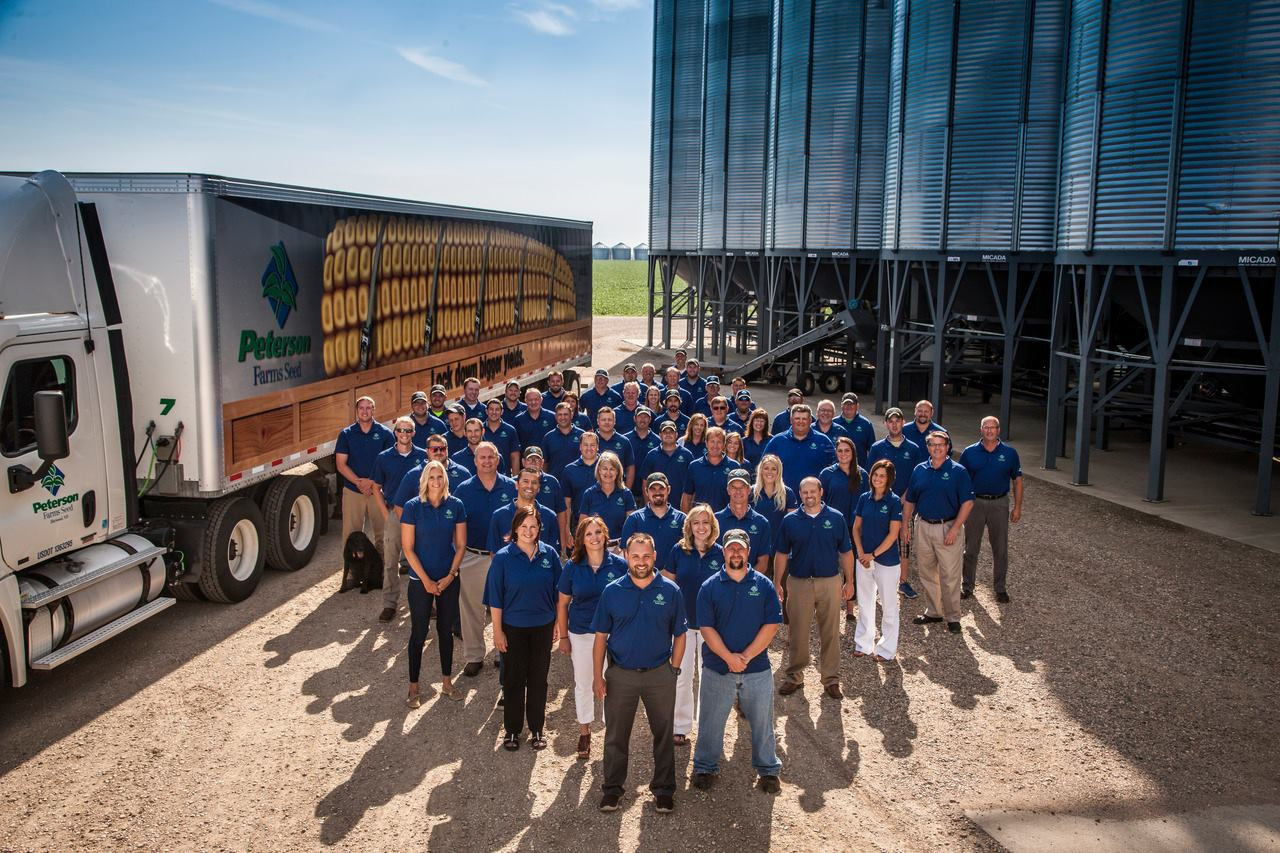 The team at Peterson Farms Seed