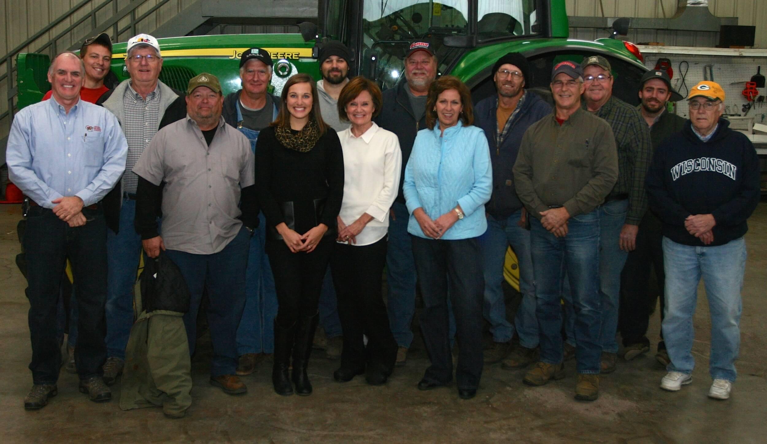 All of us at Hughes Farms