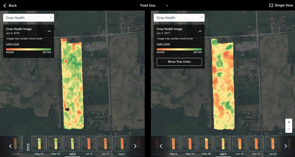 FarmLogs Field Data Explorer